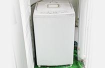 使い古した洗濯機