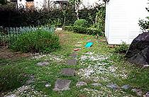 庭にある物置